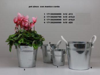 B004-Pot zinco lucido