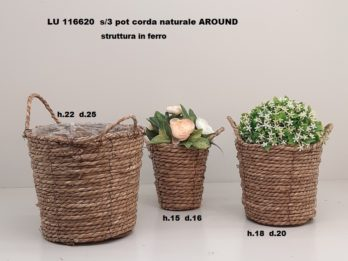 H01H-linea basket AROUND