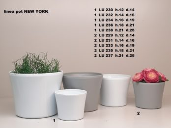 B01B-linea pot NEW YORK